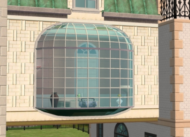 Mod the sims extendable la fen tre bay window for Fenetre windows 7