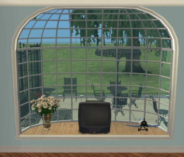 Mod the sims extendable la fen tre bay window for Fenetre windows