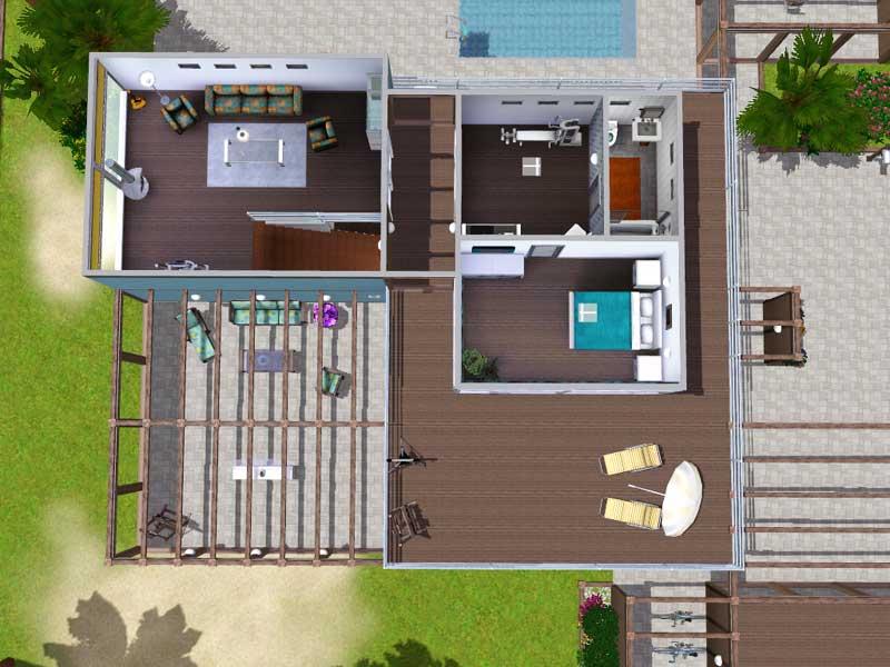 Mod the sims flow beach