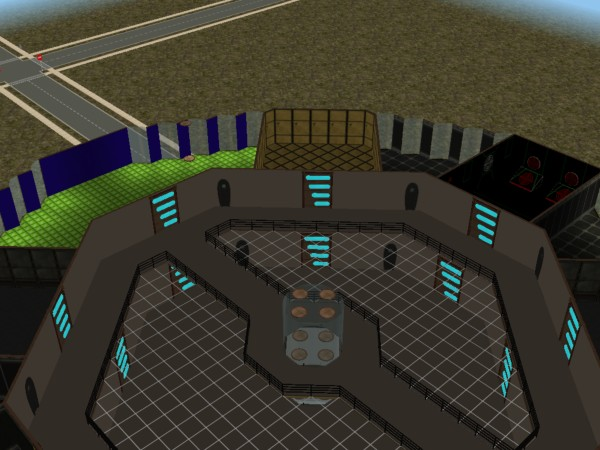 Mod the sims deep space nine residential and community for Average cost racquetball court