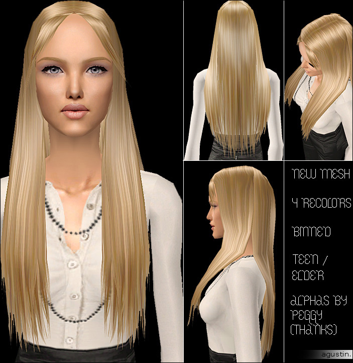 Mod The Sims Sweet Hair Now For Teens