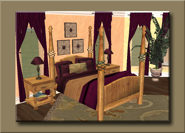 mod the sims homey touches the bedroom set 11 new meshes