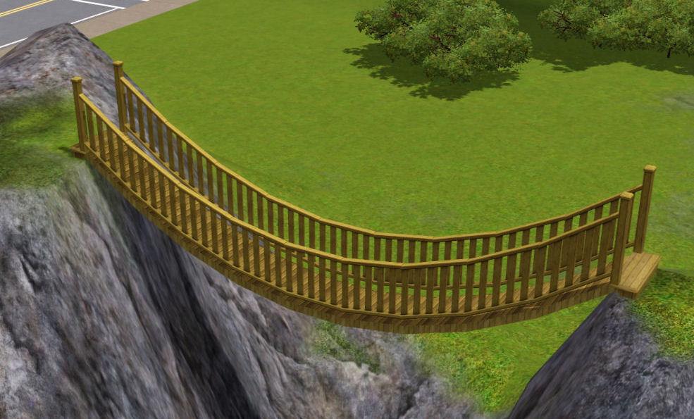 Как сделать мост в симс 3 фото 340