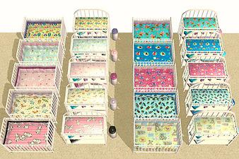 Mod The Sims Crib Bedding Collection Matching Changing