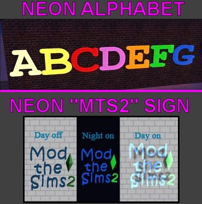 Sims  Marquee Letters