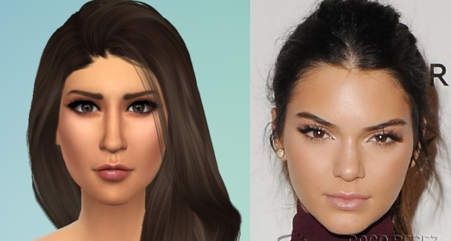 mod the sims kendall and kylie sims