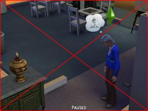 Sims  Disable Free Build Mode