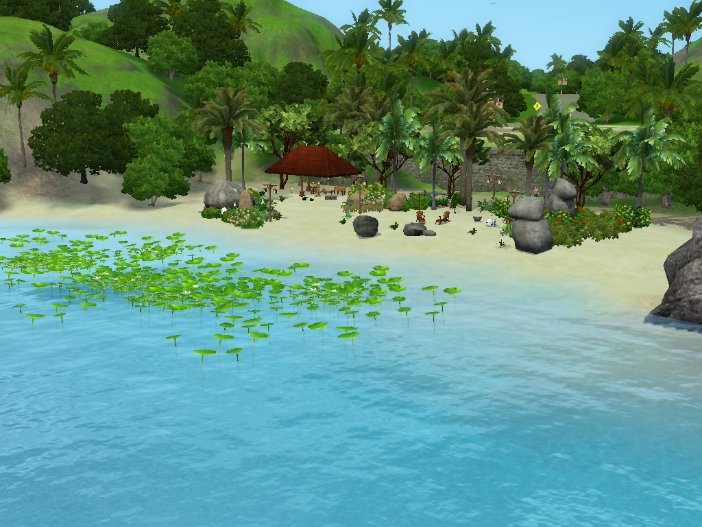 how to spear fish in sims 2 castaway