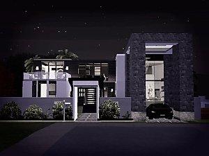 Mod The Sims Modern Beach House No CC