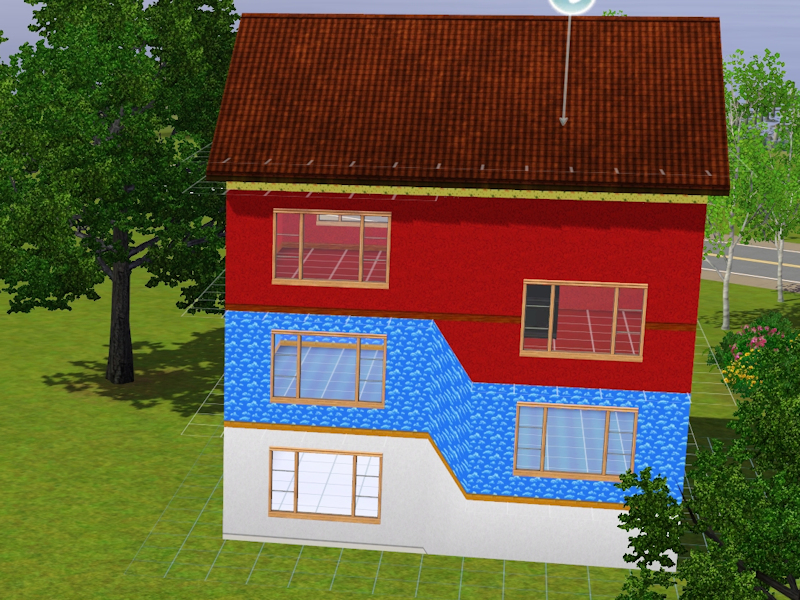 Mod The Sims Multi Storey Split Level Houses