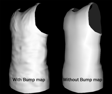 Bump map example