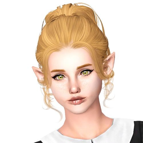 Sims 2 Hairstyles: Peggy`s 6495 Hairstyle Retextured By Sjoko