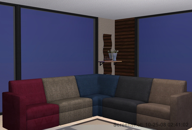 Mod The Sims Apartment Life Plumper Thumper Sectional