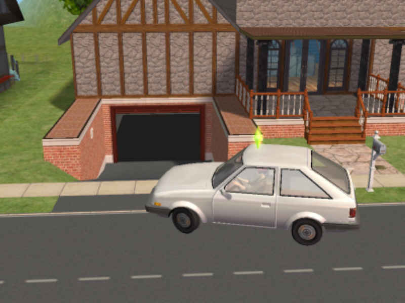 Mod The Sims Connected Garages And One Sloping Down To Garage In
