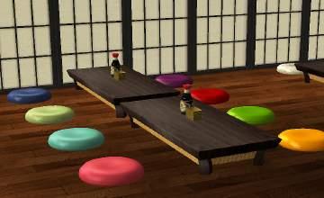 Mod The Sims 8k Sims Maruzabuton Pillow Seating Recolours