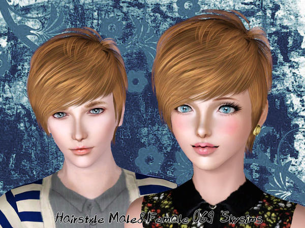 Mod The Sims Sims 4 Male Hair With Thick Fringe