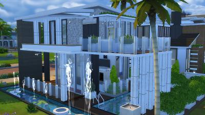 Mod The Sims - 20x15 modern family home (No CC)