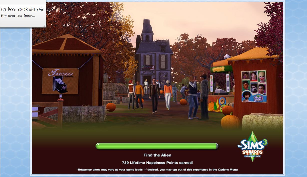 mod the sims stuck on 99 loading screen