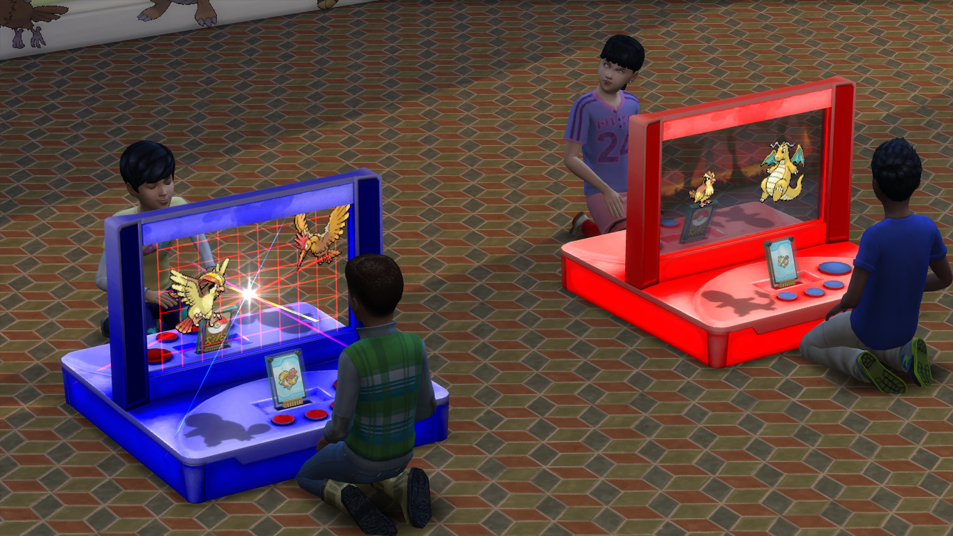 mod the sims pok mon x void critter cards and stickers. Black Bedroom Furniture Sets. Home Design Ideas