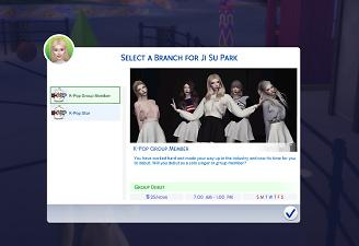 Mod The Sims - Kpop Star Career (6/29/2018 Update)