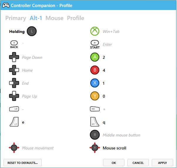Mod The Sims - Sims 3 Xbox Controller Profile for Controller