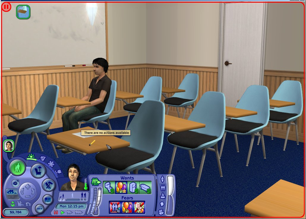 Mod The Sims Quot In Use Quot Cause Of Disabled School Desk
