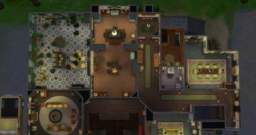 Mod The Sims Spellman Mortuary Chilling Adventures Of Sabrina