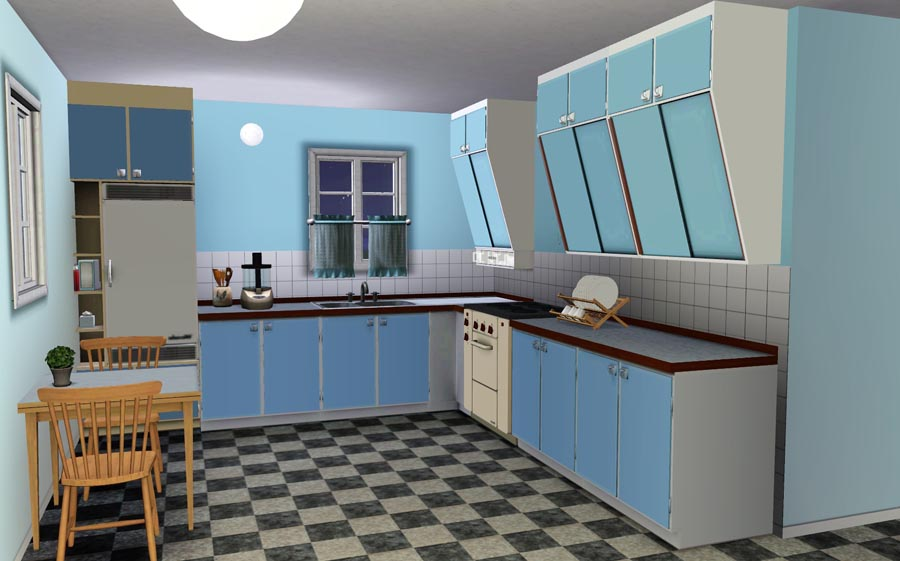 Fifties kitchen cabinets mf cabinets for 50s kitchen ideas