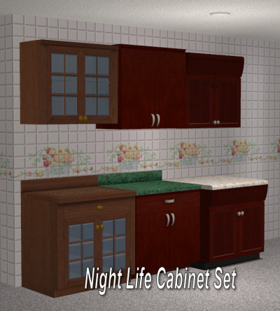 sims 2 kitchen cabinets mod the sims set of maxis match wall cabinets updated 26141