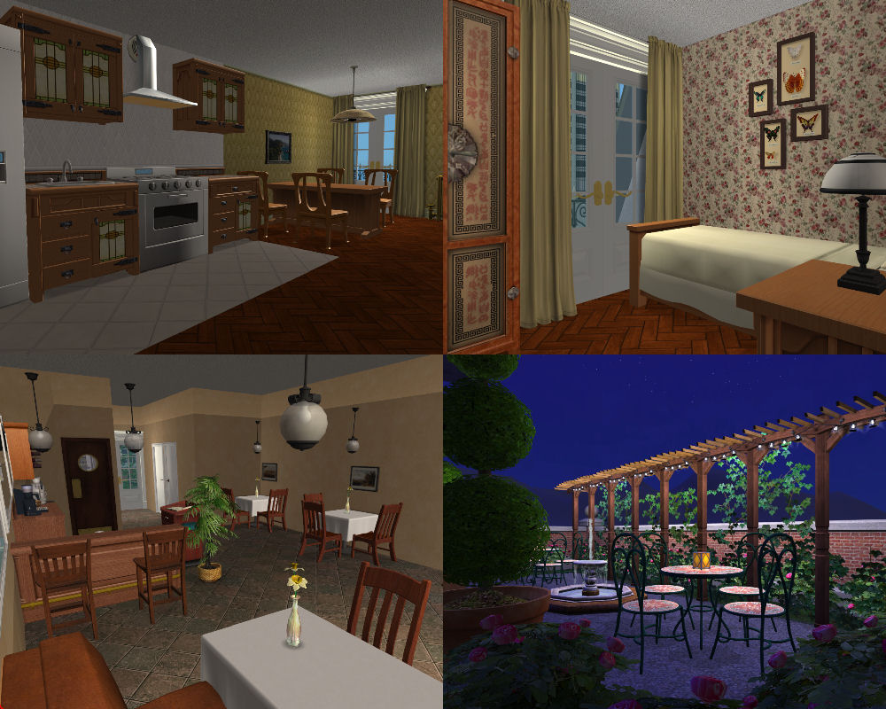 Mod The Sims - City Apartments: Paris and New York versions