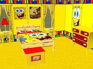 mod the sims complete spongebob bedroom set 13381 | 228086 largethumb
