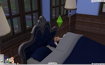 Мод заставляющий симов спать всю ночь