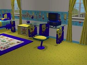 mod the sims spongebob squarepants bedroom kenny s 13381 | 272678 largethumb