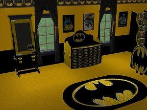batman bedroom ideas mod the sims batman child s room requested by evil tennyo 10190
