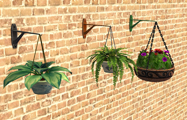 It Comes In Five 5 Colours Black Silver White Green And Bronze Is The Default Mesh Colour Now Your Plants Can Have Something To Hang From
