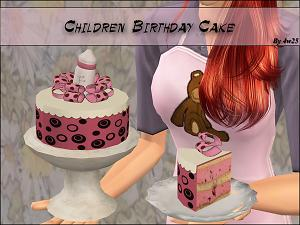 how to cook wedding cake sims 4 mod the sims children birthday cake 15608