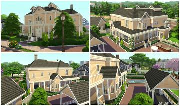Mod The Sims Wisteria Lane The Sims 4 Five Houses